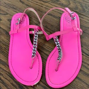 Hot pink Vince Camuto sandals